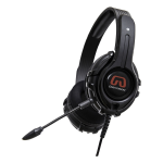 GamesterGear Cruiser Headset - Stereo - Black - Mini-phone - Wired - 32 Ohm - 20 Hz - 20 kHz - Over-the-head - Binaural - Circumaural - 4.90 ft Cable