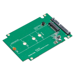 2.5 inch SATA III to M.2 (NGFF) SSD Enclosure with Complete Screw Set