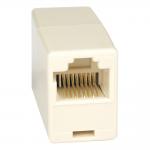 Telephone Straight Through Modular In-line Coupler RJ45 F/F - Network coupler - RJ-45 (F) to RJ-45 (F) - CAT 5e