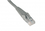 5ft Cat6 Gigabit Snagless Molded Patch Cable RJ45 M/M Gray 5 - Patch cable - RJ-45 (M) to RJ-45 (M) - 5 ft - UTP - CAT 6 - molded snagless stranded - gray