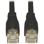 Lite 5ft Augmented Cat6 Cat6a Snagless 10G Patch Cable RJ45 Black - Category 6a for Network Device - 1.25 GBps - Patch Cable - 5 ft - 1 x RJ-45 Male Network - 1 x RJ-45 Male Network - Copper - Black