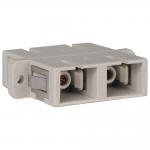 Duplex Fiber Optic MMF / SMF Multimode Singlemode Coupler SC/SC - Network coupler - SC multi-mode (F) to SC multi-mode (F) - fiber optic