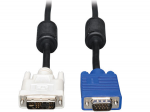 3ft DVI to VGA Monitor Cable Shielded with RGB High Resolution DVI-A to HD15 M/M 3 feet - Display cable - DVI-A (M) to HD-15 (M) - 3 ft - molded