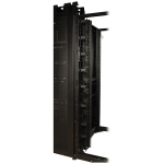Open Frame Rack 6ft Vertical Cable Manager 3in Wide - Rack cable management duct with cover (vertical) - black