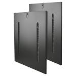 42U Rack Enclosure Cabinet Side Panels Cable Pass Through Slots - Rack panel - side - 42U (pack of 2)