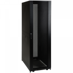 42U Rack Enclosure Server Cabinet with Doors & Sides - Rack - cabinet - black - 42U - 19 inch - for P/N: SRXFANROOF