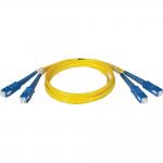 1M Duplex Singlemode 8.3/125 Fiber Optic Patch Cable SC/SC 3 feet 3ft 1 Meter - Patch cable - SC single-mode (M) to SC single-mode (M) - 3.3 ft - fiber optic - 8.3 / 125 micron - riser - yellow