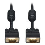 6ft VGA Coax Monitor Cable with RGB High Resolution HD15 M/M 6 feet - VGA cable - HD-15 (M) to HD-15 (M) - 6 ft - molded