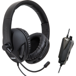 Multimedia Oblanc COBRA510 (BLACK) 5.1 Surround Sound Gaming Headset - Surround - Black - USB - Wired - 20 Hz - 20 kHz - Over-the-head - Binaural - Circumaural - 6.50 ft Cable