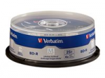 25PK BDR 4X 25GB M DISC WITH BRANDED SURFACE JEWEL CASE
