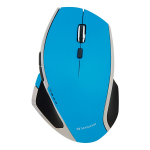 Deluxe - Mouse - 8 buttons - wireless - 2.4 GHz - USB wireless receiver - blue