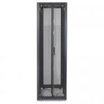Schneider Electric NetShelter SX Rack Cabinet - 29.53 inch 48U Wide x 42.13 inch Deep - Black