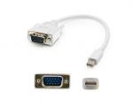 3ft Mini-DP to VGA Adapter Cable - DisplayPort cable - Mini DisplayPort (M) to HD-15 (VGA) (M) - 3.3 ft - active - white
