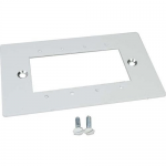 Wiremold Evolution Series Floor Box Device Plate - In-floor box cover - white