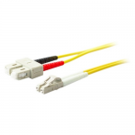 15m SC OS1 Yellow Patch Cable - Patch cable - SC/UPC single-mode (M) to SC/UPC single-mode (M) - 15 m - fiber optic - 9 / 125 micron - OS1 - halogen-free - yellow