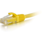 150ft Cat6 Snagless Unshielded (UTP) Ethernet Network Patch Cable - Yellow - Patch cable - RJ-45 (M) to RJ-45 (M) - 150 ft - CAT 6 - molded snagless stranded - yellow