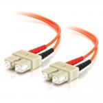 6m SC-SC 50/125 OM2 Duplex Multimode Fiber Optic Cable (TAA Compliant) - Orange - Patch cable - SC multi-mode (M) to SC multi-mode (M) - 6 m - fiber optic - 50 / 125 micron - OM2 - orange - TAA Compliant