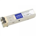 Juniper QFX-SFP-1GE-SX Compatible SFP Transceiver - SFP (mini-GBIC) transceiver module (equivalent to: Juniper QFX-SFP-1GE-SX) - GigE - 1000Base-SX - LC multi-mode - up to 1800 ft - 850 nm - for Juniper QFX Series QFX3500 Switch