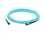 30m MPO OM3 Aqua Patch Cable - Patch cable - MPO multi-mode (M) to MPO multi-mode (M) - 98 ft - fiber optic - 50 / 125 micron - OM3 - halogen-free - aqua