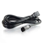 10ft 14AWG 250 Volt Power Cord (IEC C14 to IEC320 C19) - Power cable - IEC 60320 C14 to IEC 60320 C19 - AC 250 V - 10 ft - black