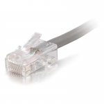 50ft Cat5e Non-Booted Unshielded (UTP) Network Patch Cable (Plenum Rated) - Gray - Category 5e for Network Device - RJ-45 Male - RJ-45 Male - Plenum-Rated - 50ft - Gray