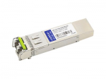 SFP (mini-GBIC) transceiver module (equivalent to: Arista Networks SFP-1G-CW-1550-80) - GigE - 1000Base-CWDM - LC single-mode - up to 49.7 miles - 1550 nm - TAA Compliant