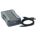 RDX+ (1 TB) Removable Disk Cartridge Backup System (Powered through USB 3.0 includes External USB 3.0 Dock 1 Cartridge)