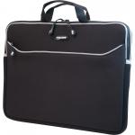 Edge ME SlipSuit 17.3 inch Sleeve - Sleeve - 13.75 inch x 17.5 inch x 2.2 inch - Neoprene - Black
