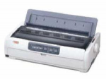 MICROLINE 691 Dot Matrix Printer (24-pin) (480 cps) (128 KB) (360 x 360 dpi) (Max Duty Cycle 14000 Pages) (Parallel) (USB) (Energy Star)