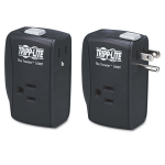 Lite ProtectIT 2 Outlets Surge Suppressor - Receptacles: 2 x NEMA 5-15R - 1050J