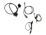 Display cable kit - Includes USB A cable DC-in cable DVI-D cable and audio cable