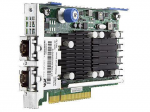 FlexFabric 10Gb 2-Port 533FLR-T Adapter FlexibleLOM form-factor - Has two 10G BASE-T RJ45 ports and 256MB integrated memory - Requires one x8 PCI (Gen 2) Express slot - Requires CAT6 UTP or better twisted-pair