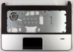 Upper CPU cover (chassis top Silver color) - For use on models with a TouchPad and fingerprint reader