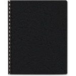 Grain Presentation Covers Oversize Black 200 Pack - Letter - 8.75 inch Width x 11 inch Length Sheet Size - Leather - Black - 200 / Pack
