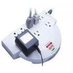 SurgeArrest Network - Surge protector - AC 120 V - output connectors: 8 - beige