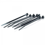 7.5in Cable Ties - Black - 100pk - Cable Tie - Black - 100 Pack