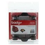 BADGY200 1 X 100 PRINT YMCKO RIBBON 100 PRINTS 1 CLEANING KIT COMPATIBLE WITH BADGY1