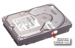9.1-GB non-hot-plug Ultra Wide SCSI hard drive - 3.5-inch form factor 1.0-inch high