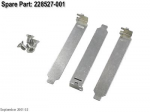 Hardware Kit - Includes three PCI expansion slot covers four T-15 flathead screws and six 6-32 x 0.2-inch screws