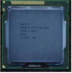 Intel Pentium G620 Dual-Core 64-bit processor - 2.60GHz (Sandy Bridge 3MB Level-3 cache Direct Media Interface (DMI) speed 5.0 GT/s 65 watt thermal design power (TDP) 1155-pin FCLGA socket)