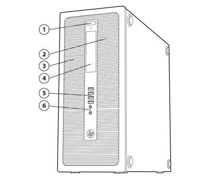 Quickspecs HP EliteDesk 800 G1 Business Series Desktop